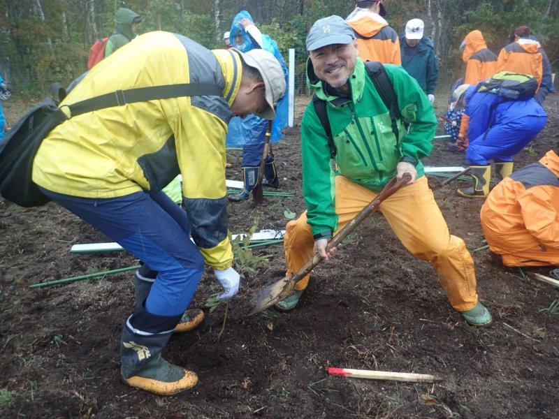 Image of 北海道木育フェスタ2019に参加し、ヤチダモの植樹をしました 2