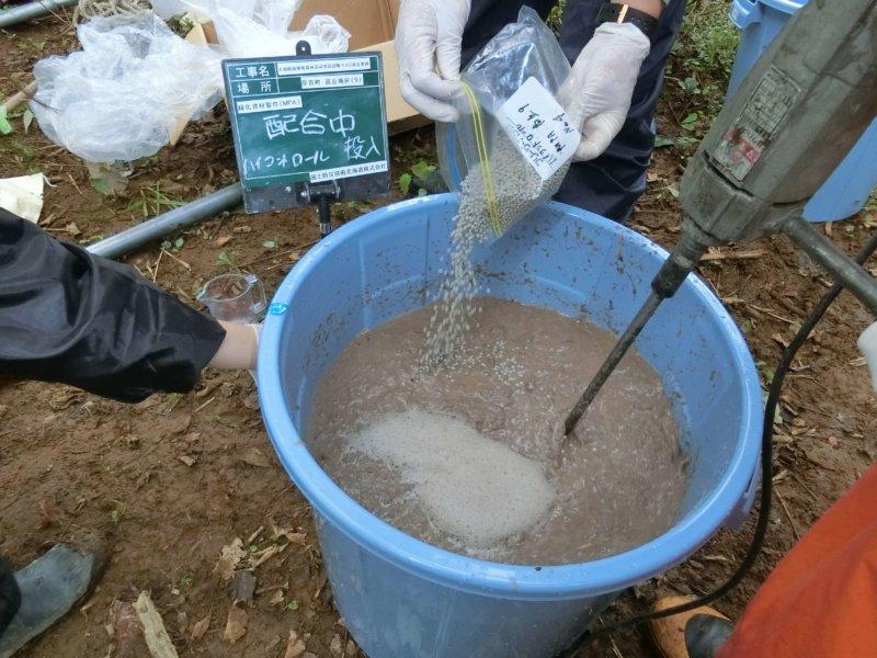 Image of 胆振東部地震に起因した崩壊地での緑化試験 4