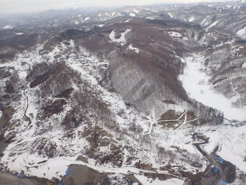 Image of 胆振東部地震に起因した崩壊地での緑化試験 7