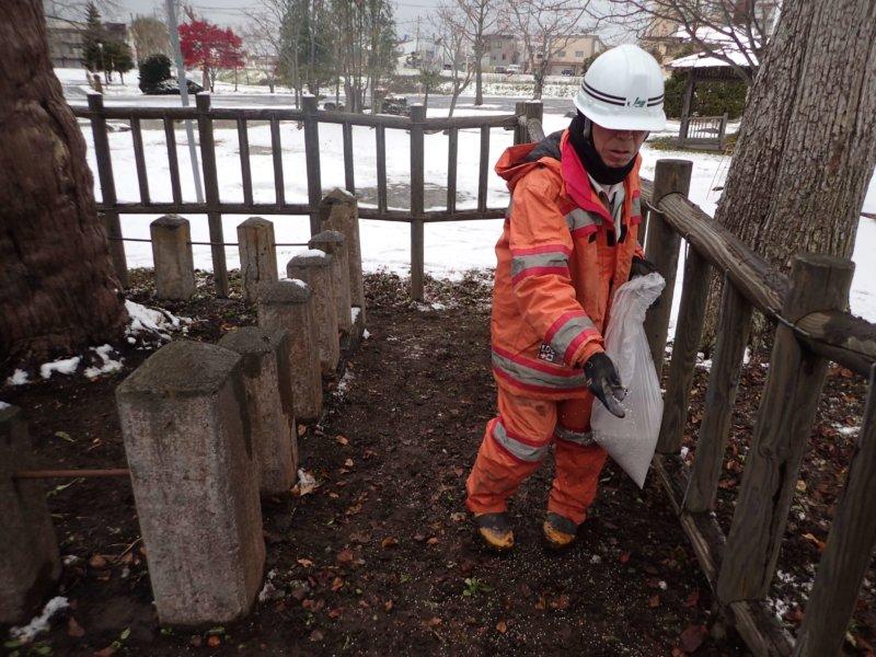 Image of 北海道当別町開拓記念樹イチイにおける「協働」での保全作業・その3 6