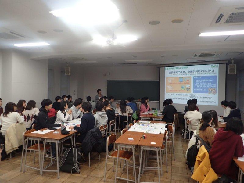 Image of 北海道大学農学部での避難行動訓練(EVAG)講義の実施 4